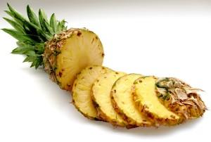 Sliced pineapple implantation